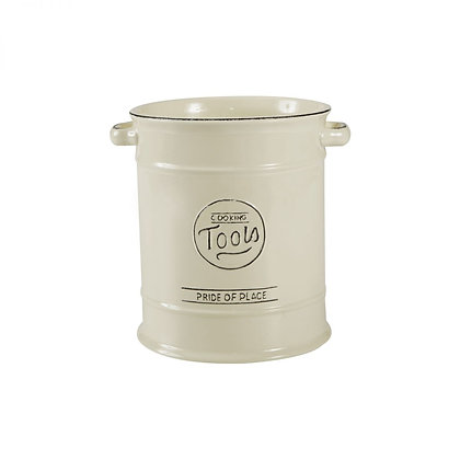 Pride Of Place Large Cooking Tools Jar Old Cream
