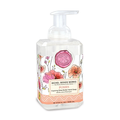 Michel Designs Foaming Hand Soap - Posies
