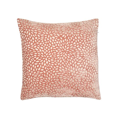 Malini Wilder Feather Cushion - Pink