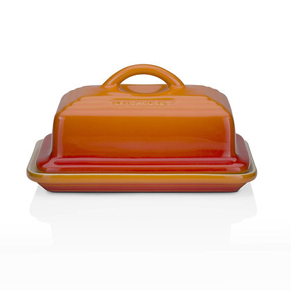 Le Creuset Stoneware Butter Dish - Flame