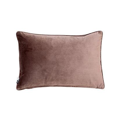 Malini Rectangular Luxe Cushion - Truffle