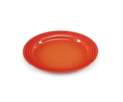 Le Creuset Stoneware Side Plate - Flame/Volcanic