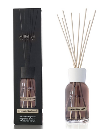 Millefiori Milano Natural 250ml Diffuser Insence and Blond Woods