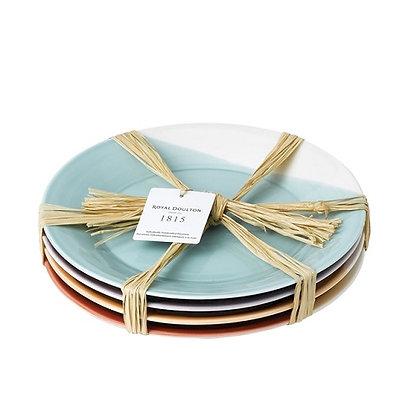 Royal Doulton 1815 Bright Dinner Plates set of Four