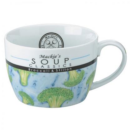 Mackie's Soup Mug - Broccoli and Stilton