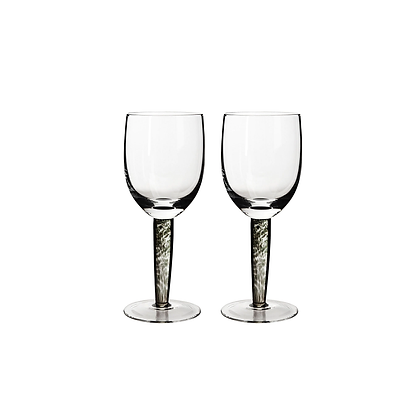 Denby Jet Red Wines Set of 2