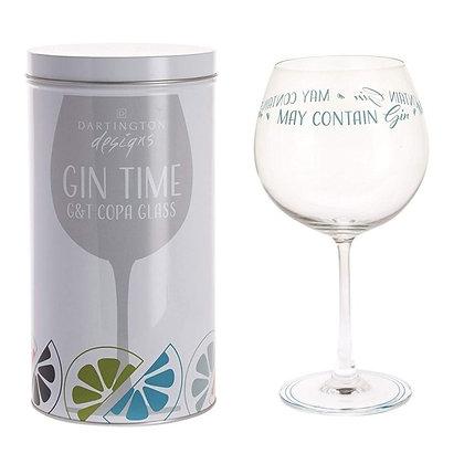Dartington Gin Copa in Tin - May Contain Gin