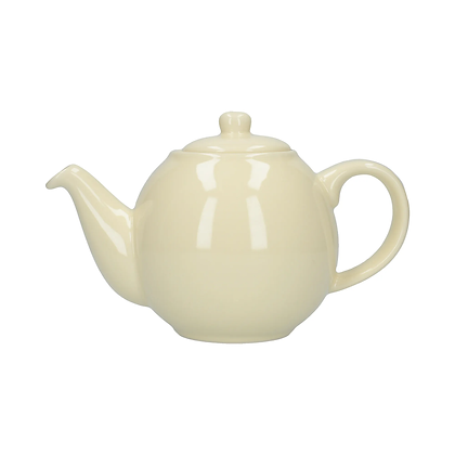 London Pottery 4 Cup Globe Teapot - Ivory