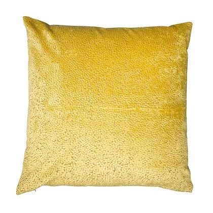 Malini Bingham Feather Cushion - Mustard
