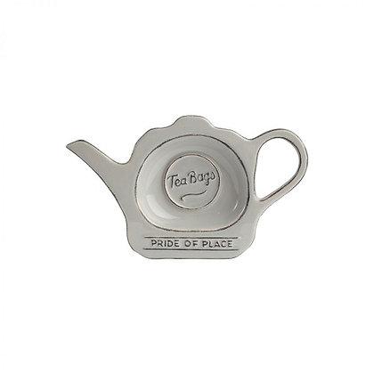 T&G Pride Of Place Tea Bag Tidy - Cool Grey