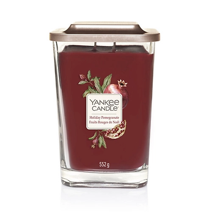 Yankee Candle Elevation 2 Wick Candle - Holiday Pomegranate