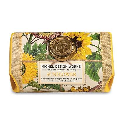 Michel Designs Bar Soap - Sunflower