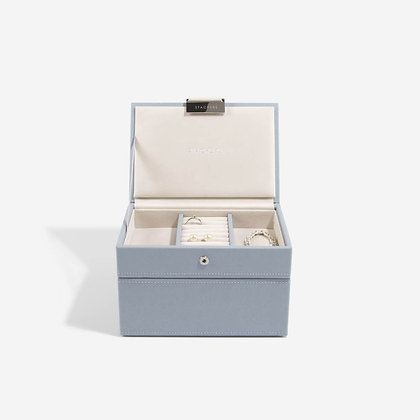Stackers Mini Jewellery Box - Dusky Blue