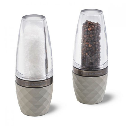 Cole and Mason Contemporary Salt and Pepper Mill Set