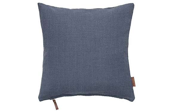 Feather Filled Hand Woven Cotton Cushion-Ocean