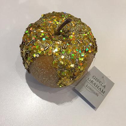 Gisela Graham Decoration - Yellow Apple