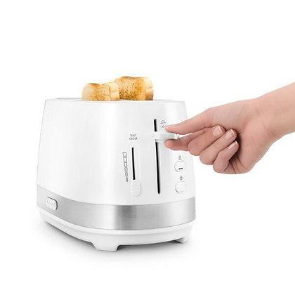 Delonghi Active Line 2 Slice Toaster - White