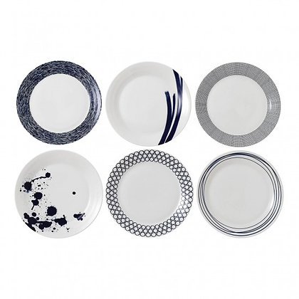 Royal Doulton Pacific 28cm Plates Set of 6