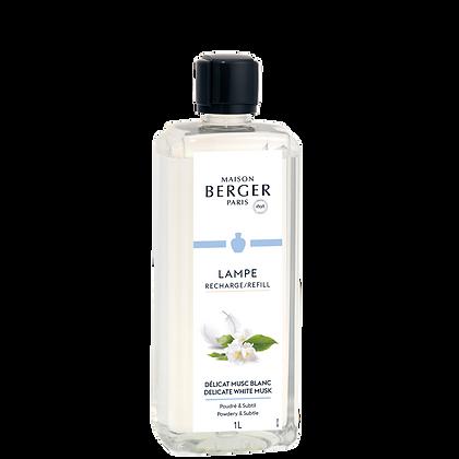 Maison Berger Delicate White Musk Fragrance Lamp Refill 1 Litre