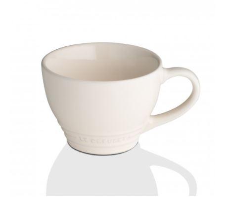 Le Creuset 400ml Stoneware Grand Mug - Pearl Almond
