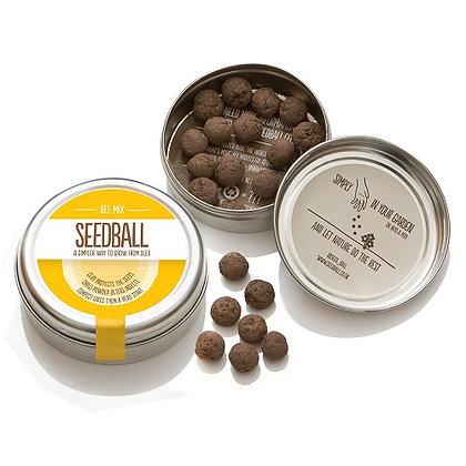 Seedball Tin - Bee Mix