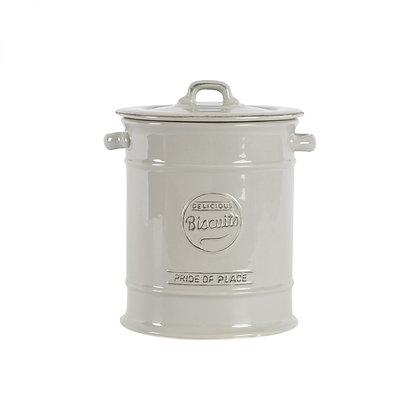 Pride Of Place Large Biscuit Jar Cool Grey