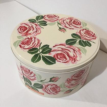 Elite Tins Emma Bridgewater Pink Roses Medium Round Cake Tin