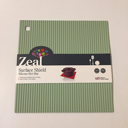 Zeal Surface Shield Silicone Hot Mat- Green