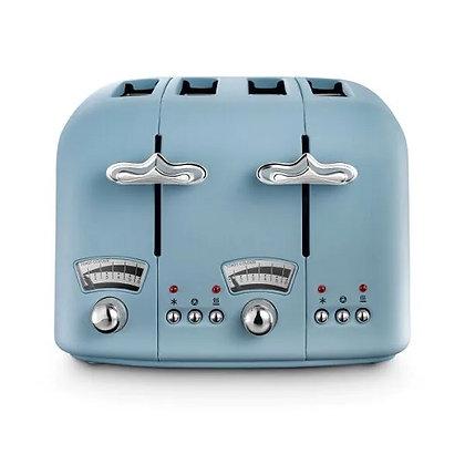 Delonghi Argento Flora Toaster - Azure Blue