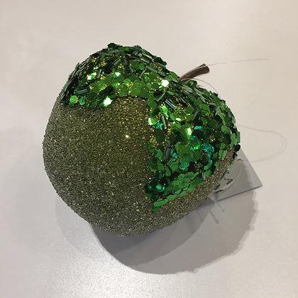 Gisela Graham Decoration - Green Apple