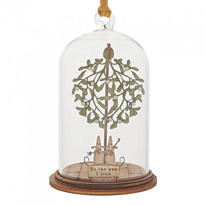 Kloche Hanging Ornament - To the One I Love at Christmas