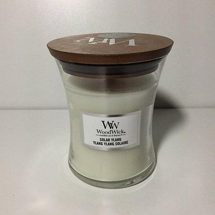 Woodwick Medium Candle - Solar Ylang