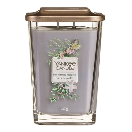 Yankee Candle Elevation 2 Wick Candle - Sun-Warmed Meadows