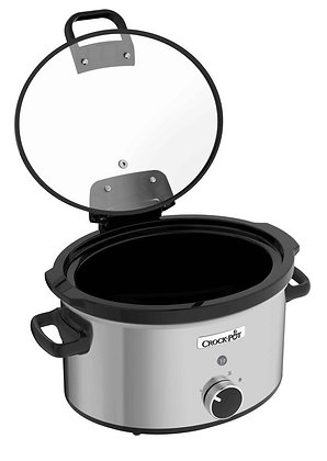 Crock Pot 3.5L Stainless Steel Slow Cooker