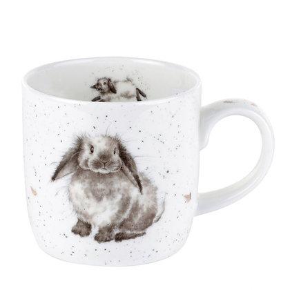 Royal Worcester Wrendale 'Rosie' Rabbit Fine Bone China Mug