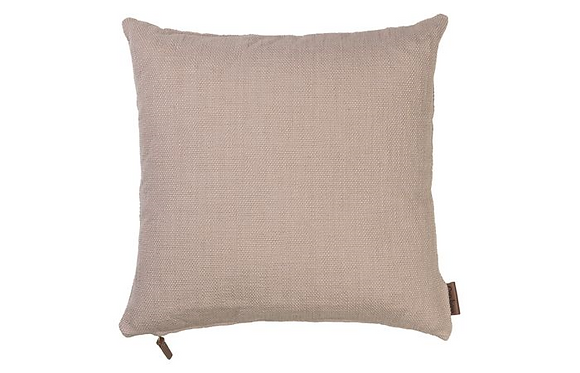 Feather Filled Hand Woven Cotton Cushion-Magnolia