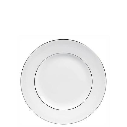 Wedgwood Vera Wang Blanc sur Blanc - 20cm Plate