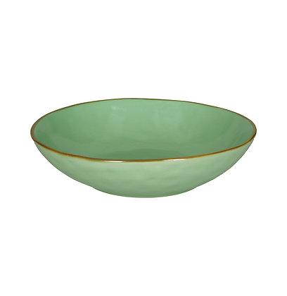 Rose & Tulipani Concerto 21cm Pasta Bowl - Turquoise