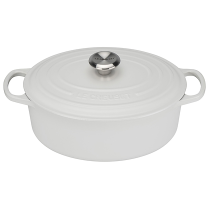 Le Creuset 29cm Cast Iron Oval Casserole - Cotton