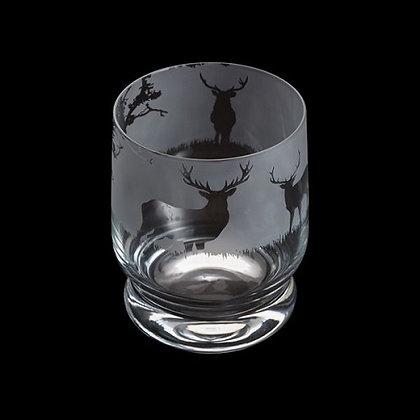 Dartington Aspect Stag Glass Tumbler