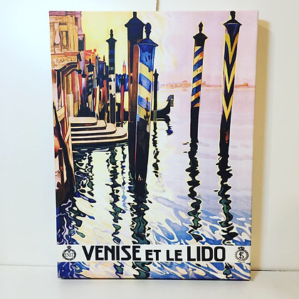 Canvas Art - Venise et Le Lido