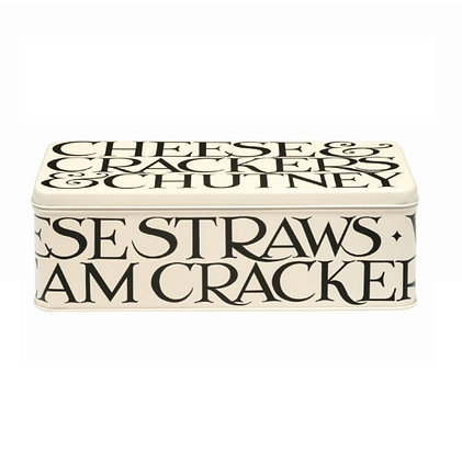 "Elite Tins Emma Bridgewater ""Black Toast"" Cracker Tin"