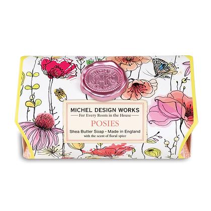 Michel Designs Bar Soap - Posies