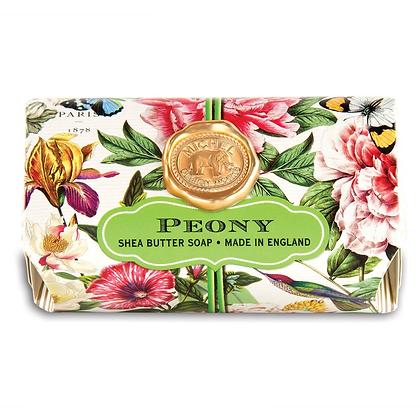 Michel Designs Bar Soap - Peony
