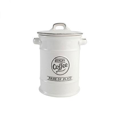 Pride Of Place Coffee Jar White