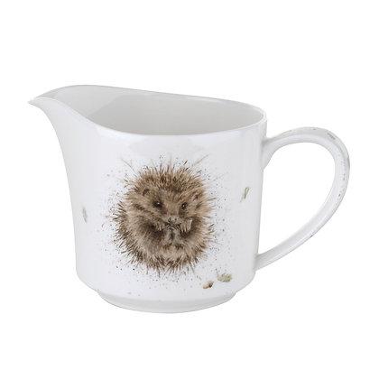 Royal Worcester Wrendale Cream Jug - Hedgehog