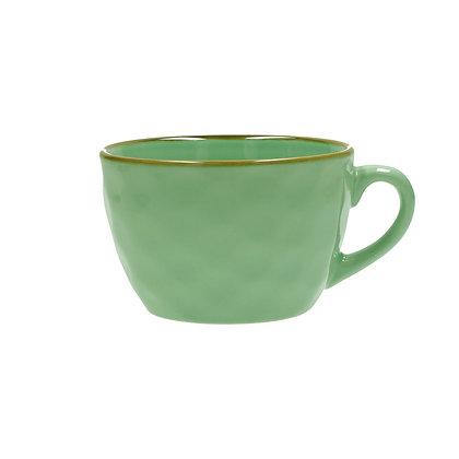 Concerto Turquoise Green Breakfast Mug
