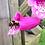 Thumbnail: Seedball Mini-Meadow Bamboo Pots - Bee Mix