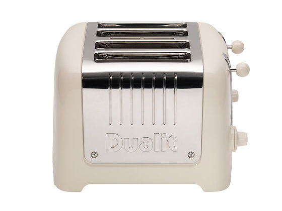 Dualit Lite 4 Slice Toaster- Canvas White