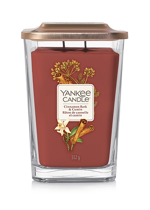Yankee Candle Elevation 2 Wick Candle - Cinnamon Bark and Cumin